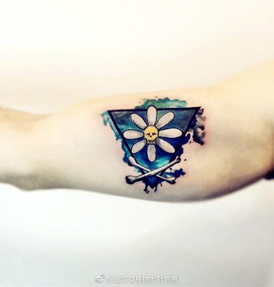 武汉纹身武汉铁木针刺青店武汉私人订制纹身水彩纹身点刺纹身黑灰